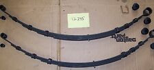 NEW REAR LEAF SPRINGS FOR 1960-63 FALCON