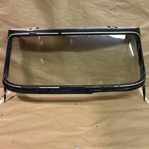 Original Triumph TR250 TR5 TR6 Front Windscreen Windshield Frame w Glass OEM