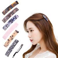Women Geometric  Hair Clips Hairpins Leopard Print Barrettes Hair Accessories