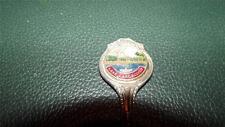 OLD souvenir spoon LAKE CARGELLIGO NSW lake scene BOAT ramp PITCHER EPNS A1