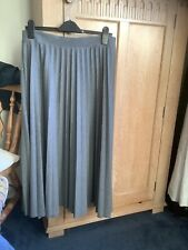 Marks & Spencer Grey Pleated Skirt Size 14