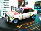 FORD Escort MKII Rallye Vatanen Schweden 1978 Marlb. oro RAR Vitesse 1:43
