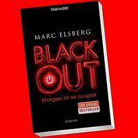 Marc Elsberg - BLACKOUT. Morgen ist es zu spät (RH 38029)