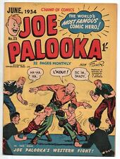 JOE PALOOKA  23    AUSTRALIA HARVEY FILE COPY   1954