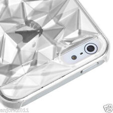 Apple iPhone 5 Diamond Shape Back Case Cover Accessory Clear
