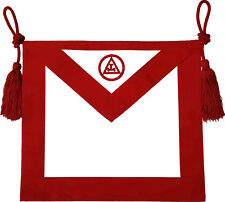 MASONIC ROYAL ARCH MASON MEMBER APRON HAND EMBROIDERED (MA-064-V)