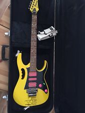 Ibanez JEMJRSP Steve Vai JEM Solidbody HSH Electric Guitar Maple Neck Yellow