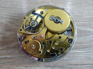 SUPERB ANTIQUE GENTS REPEATER POCKET WATCH MOVEMENT  WORKING