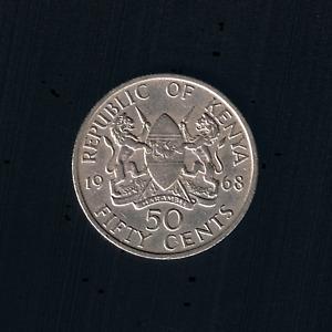 Kenya - 50 Cents - 1968 - KM# 4