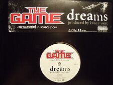"THE GAME - DREAMS (12"")  2005!!!  RARE!!!  KANYE WEST!!!"