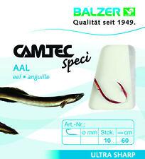 Balzer Camtec Speci Allround Brüniert 60cm 0,18mm Gr 10 Vorfachhaken