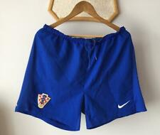 CROATIA HRVATSKA NATIONAL TEAM FOOTBALL SOCCER SHORTS MEN NIKE BLUE