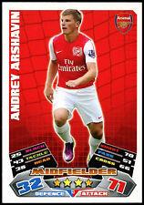 Andrey futbolístico Arsenal Match Attax #13 Topps fútbol 2011-12 tarjeta de comercio (C208)