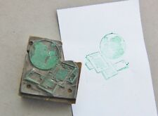 Printers Block Dingbat Printing Press Type Setter Printer at Hand Letter Press