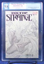 DOCTOR STRANGE #2 Alex Ross 1:200 Sketch PGX 9.8 NM/MT Near Mint X HTF!! +CGC!!!