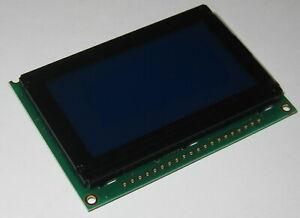 Crystalfontz Graphic LCD Module - 128 x 64 Dot Matrix - CFAG12864B - Blue Screen