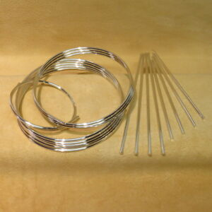 9999 Pure Silver Wire 10 Gauge - For Colloidal Silver Applications