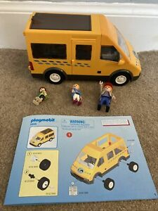 Playmobil 6866 Yellow School Bus with the correct Driver and School Children
