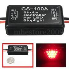 GS-100A Car Auto 12V LED Brake Stop Light Flash Strobe Controller Flasher Module
