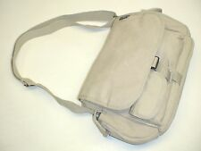 Fly Fishing Sling Guide Bag, Nice Size, Tan Cotton Canvas Clasic Style Bag
