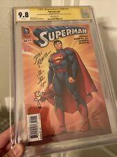 Superman 34 CGC SS 9.8 3X John Romita Sr, John Romita Jr, Klaus Janson