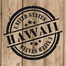 Vinilo de Corte Hawaii Pegatina Hawái USA United States 10 cm Adhesivo Pared
