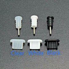 5x Anti-Dust Plug Stopper Set Micro-USB + Jack Audio 3.5mm Silicone Universal