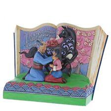 Disney Traditions Mulan 20th Anniversary Storybook Figurine Jim Shore 4059729