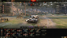 World of Tanks Account (RU) WN8 = 3400+, 63%+,11 x Tier 10 + 14 Premium Tanks
