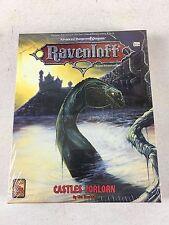 1993 AD&D 2nd Ed. Ravenloft Castles Forlorn Boxed Set TSR Sealed - Estate List