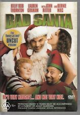 BAD SANTA / Billy Bob Thornton, Bernie Mac, Lauren Graham - DVD REGION 4