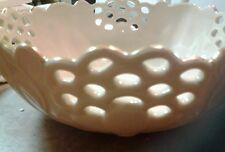 "Lenox large 8"" pierced Round Centerpiece Bowl floral sku 758999"