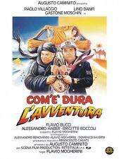 Dvd Com'è dura l'avventura (1987) - Lino Banfi/Paolo Villaggio ....NUOVO