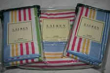 Ralph Lauren STUDIO Awning Stripe QUEEN / Full DUVET or Comforter COVER & SHAMS