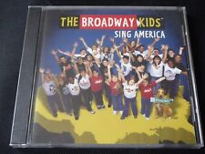 The Broadway Kids - Sing America (Live Recording) SEALED NEW CD 2008