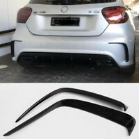 For Mercedes A Class W176 A180 A200 A250 AMG bumper A45 rear flicks canard 13_18