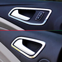 Fit For Ford Kuga 2013- Chrome Interior Door Handle Bowl Cover Trim Catch Frame