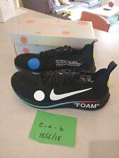 Nike X de color blanco Zoom Fly Mercurial Reino Unido 9-Negro