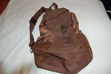 Adidas Brown New  One Shoulder Bag Backpack Polyester  One Size
