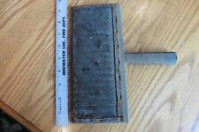 Antique Primitive Wool Carder Wooden Comb Brush carding spinning tool vintage