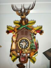 Musical Hunter Cuckoo clock. Great condition, Beautiful. 40cm high X 26cm wide.
