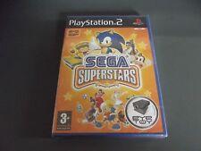 SEGA SUPERSTARS (Sony PlayStation 2, 2004) BRAND NEW FACTORY SEALED - PAL PS2