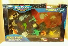 Micro Machines Star Trek 16 Vessel Limited Collectors Set by Galoob 1993