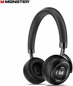 Monster ICON ANC active Noise Cancelling stereo Over Ear Headset Wireless headse