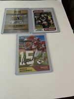 3 Card Patrick Mahomes Rookie Lot $$$ Hot $$$