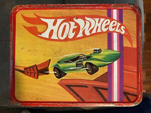 Vintage 1969 HOT WHEELS LUNCH BOX