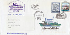 AUSTRIAN RIVER CRUISE SHIP MS BENEDIKT A SHIPS CACHED COVER