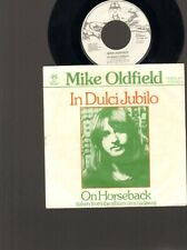 "MIKE OLDFIELD In Dulci Jubilo 7"" SINGLE On Horseback VIRGIN 1975"