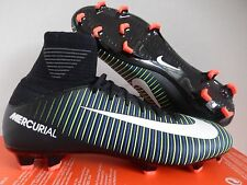 Nike Jr Mercurial Superfly V Fg Black-Ele Green Sz 5Y-Womens Sz 6.5 [831943-013]