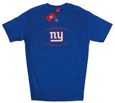 08c532eba New York Giants NFL Play Action Short Sleeve T-Shirt Blue Adult Sizes NWT